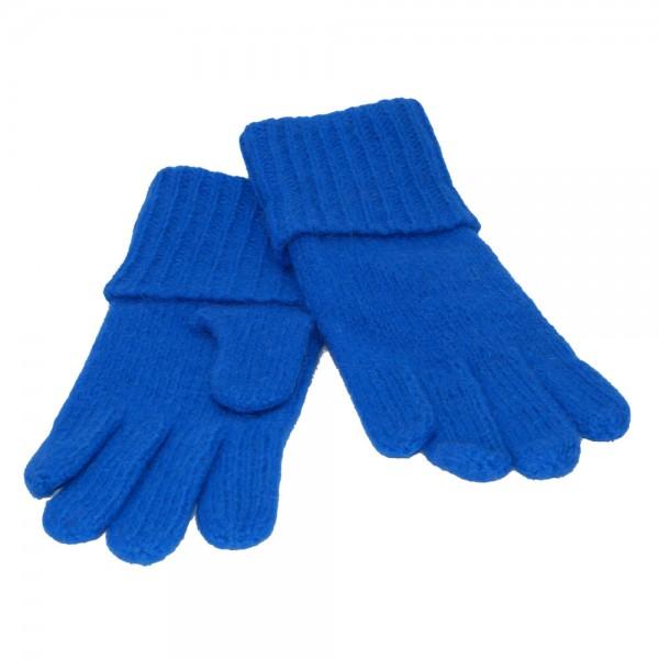 Handschuh NORDPOL Schafwolle neon blau